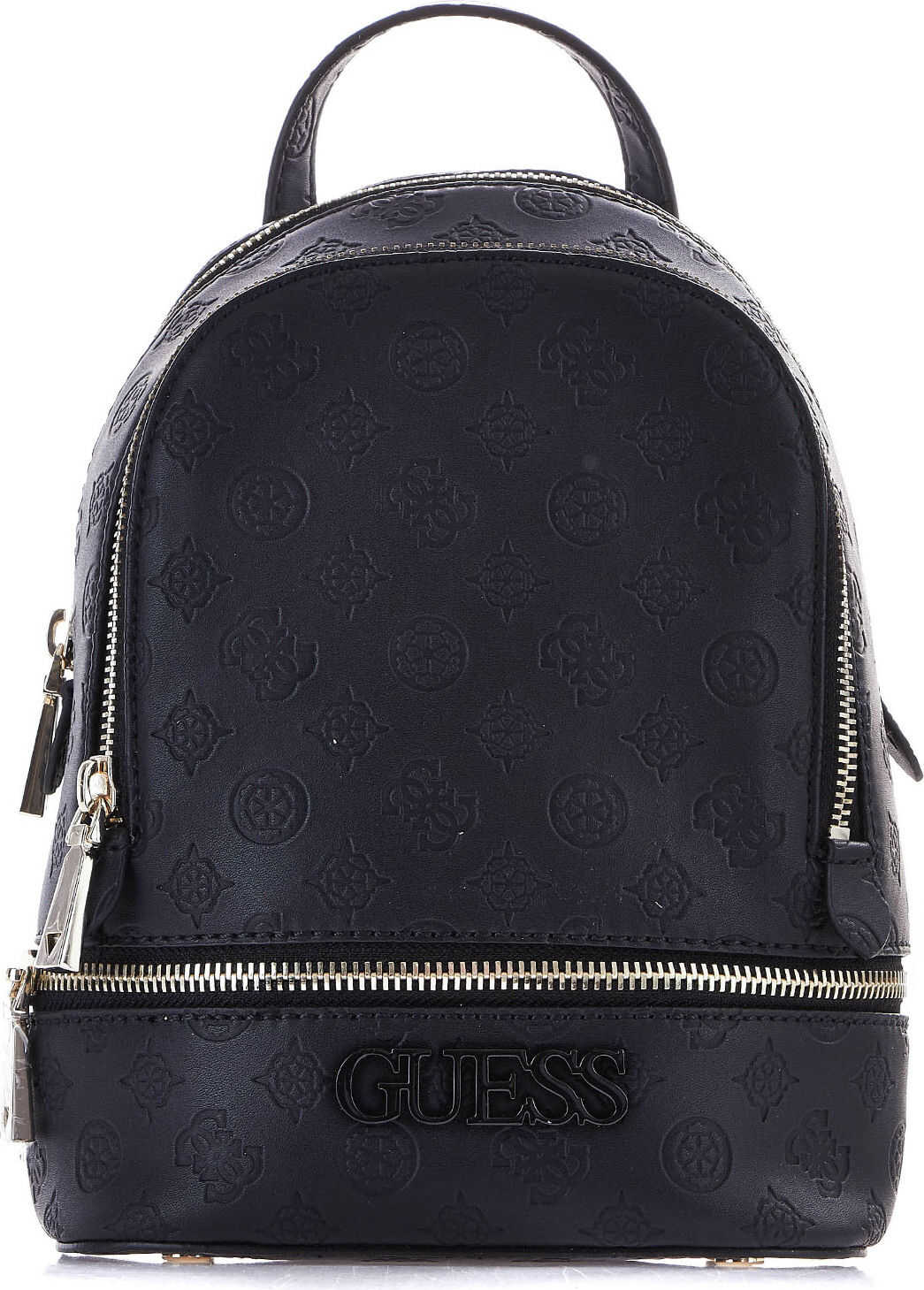 GUESS Small backpack with logo imprint Black