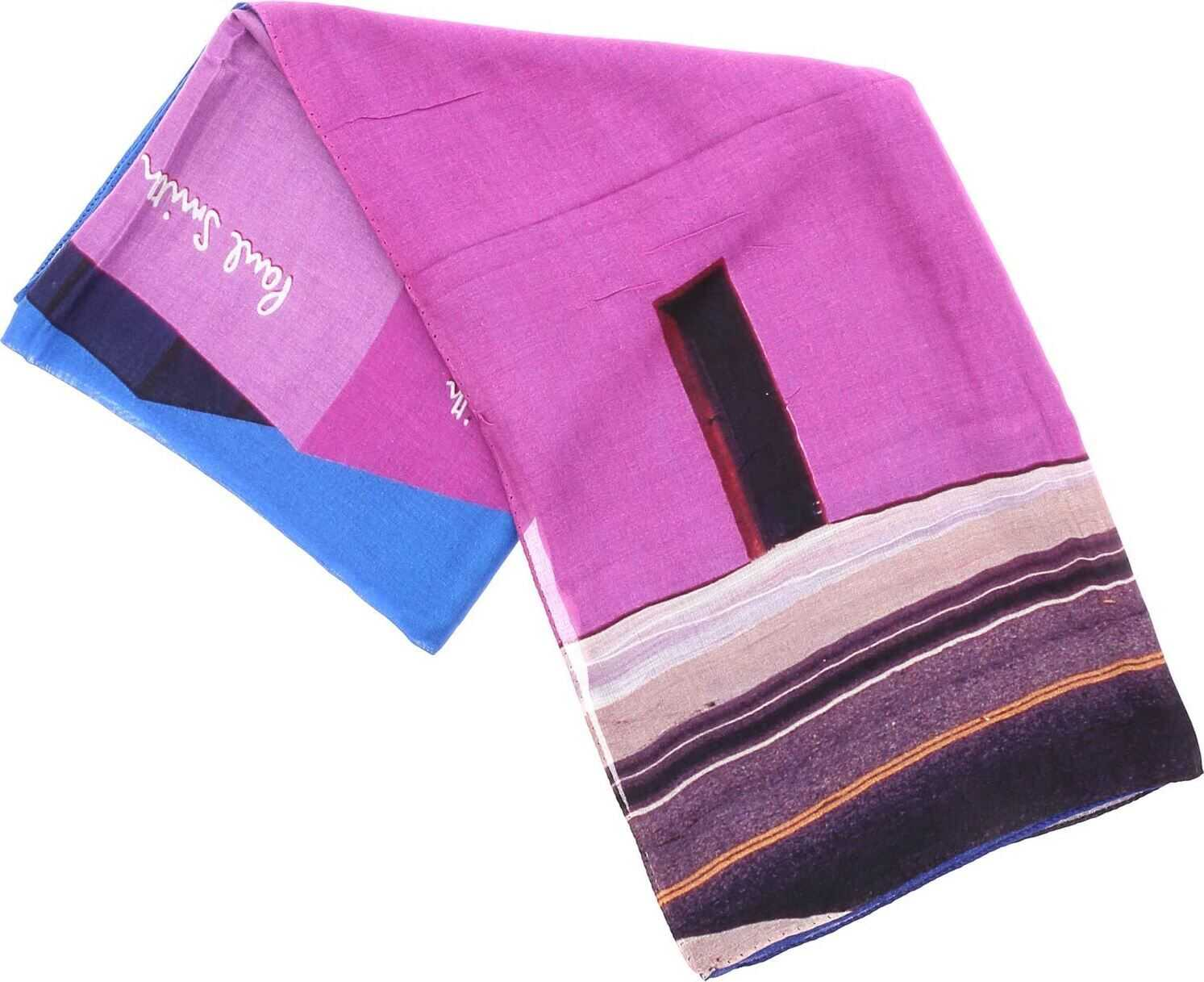 PS by Paul Smith La Store Scarf In Fuchsia Multi