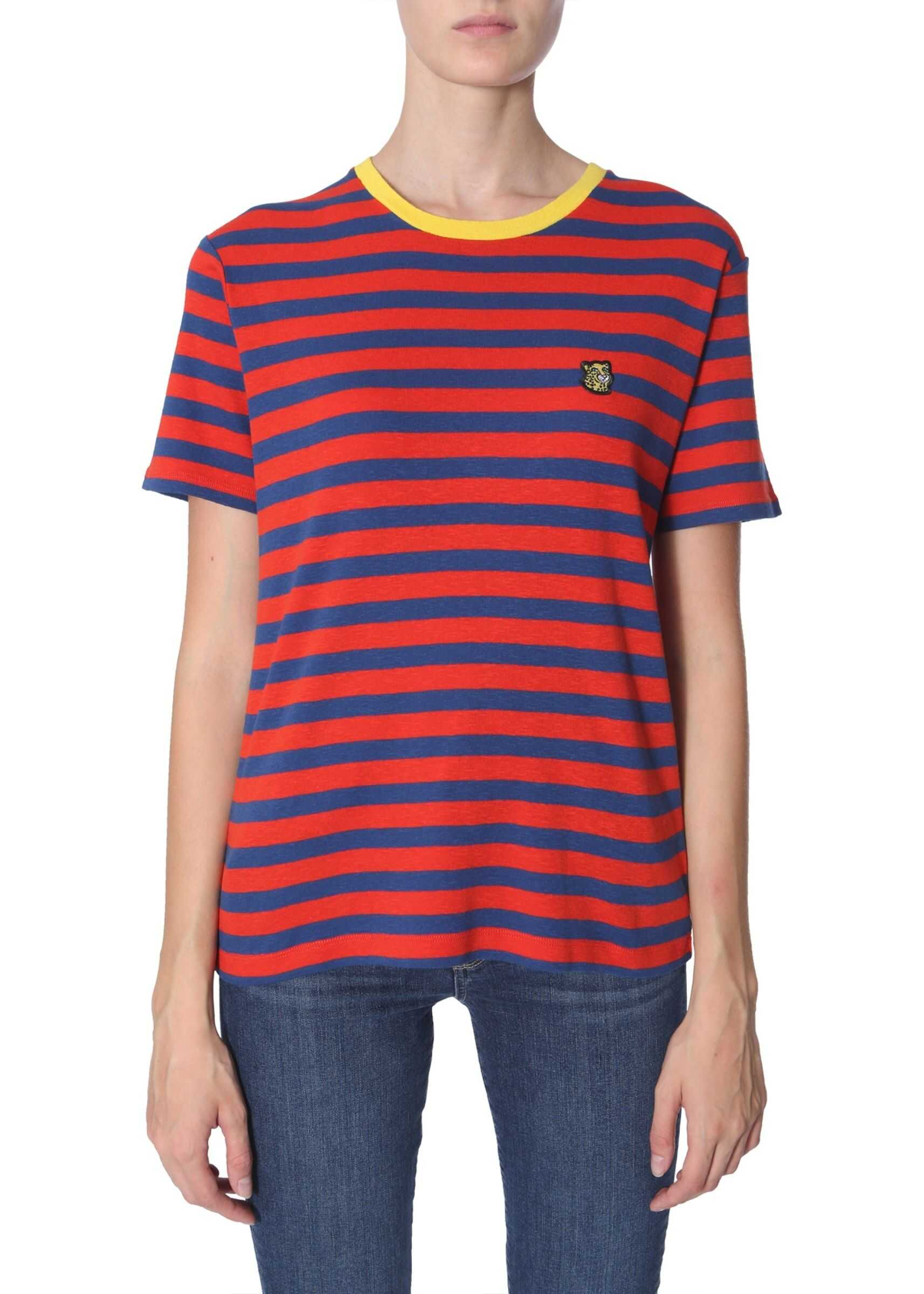 PS by Paul Smith Striped T-Shirt RED