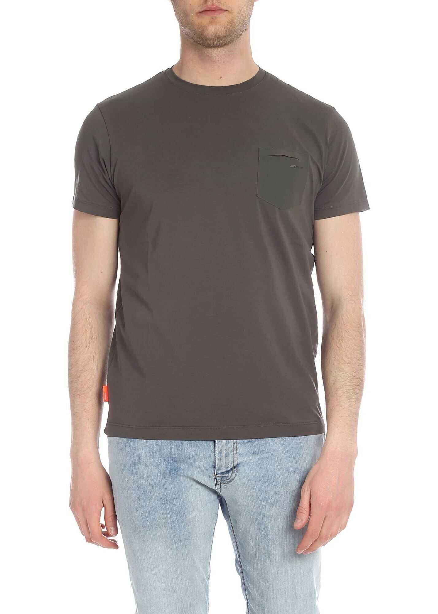 RRD Roberto Ricci Designs Green Revo T-Shirt With Pocket Green