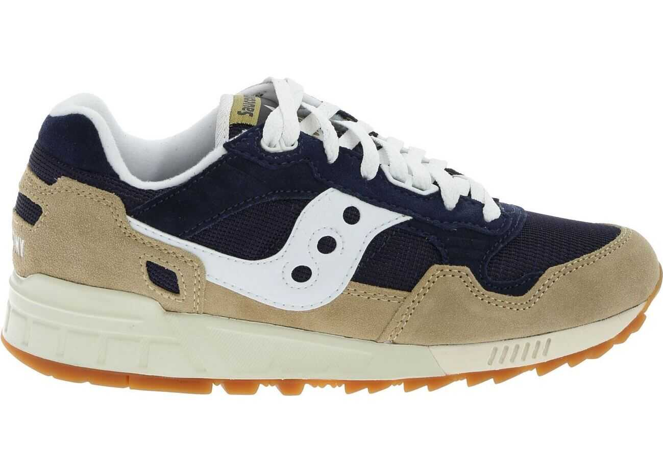 Saucony Shadow 5000 Sneakers In Blue And Beige Blue