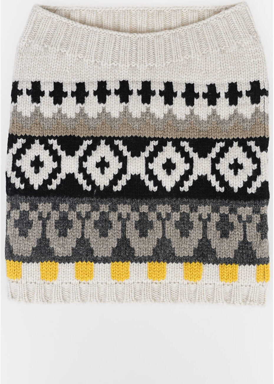 Maison Margiela MM10 Wool Collar MULTICOLOR
