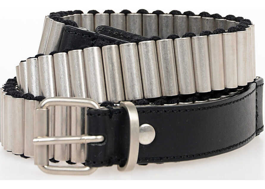 MM11 30mm Metal And Leather Belt
