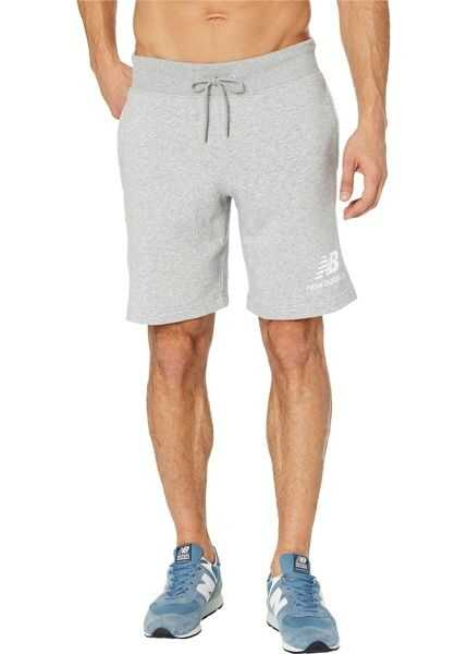8bb0078e9aa2d Pantaloni de alergare Barbati New Balance Essentials Stacked Logo Shorts