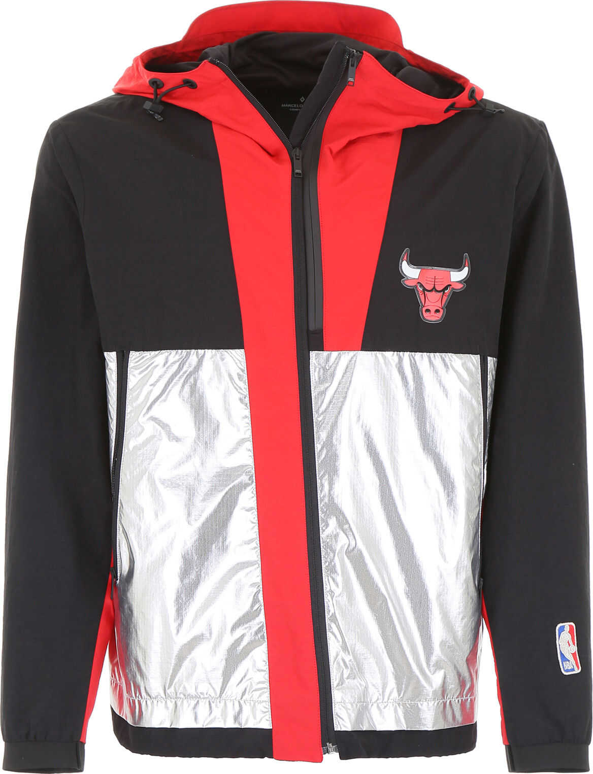 Marcelo Burlon Nba Chicago Bulls Jacket BLACK MULTI