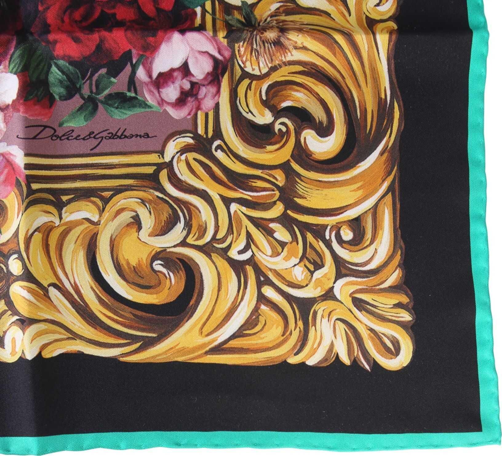 Dolce & Gabbana Silk Scarf PINK