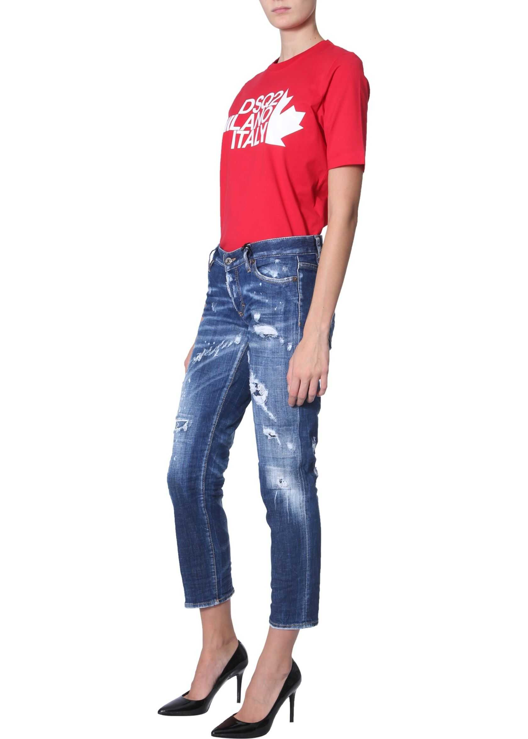 DSQUARED2 Renny Fit T-Shirt RED
