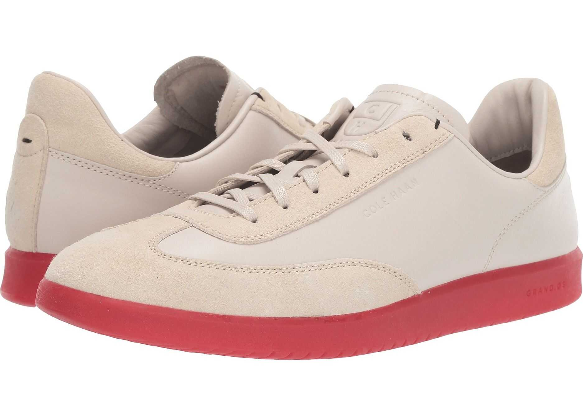 Cole Haan Grandpro Turf Sneaker Pumice/Red Translucent