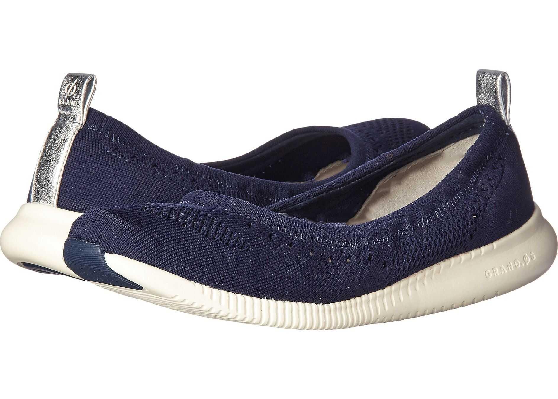 Cole Haan 2.Zerogrand Stitchlite Ballet Marine Blue Knit