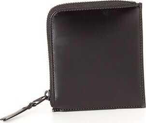 Comme des Garçons Leather Coin Purse Black