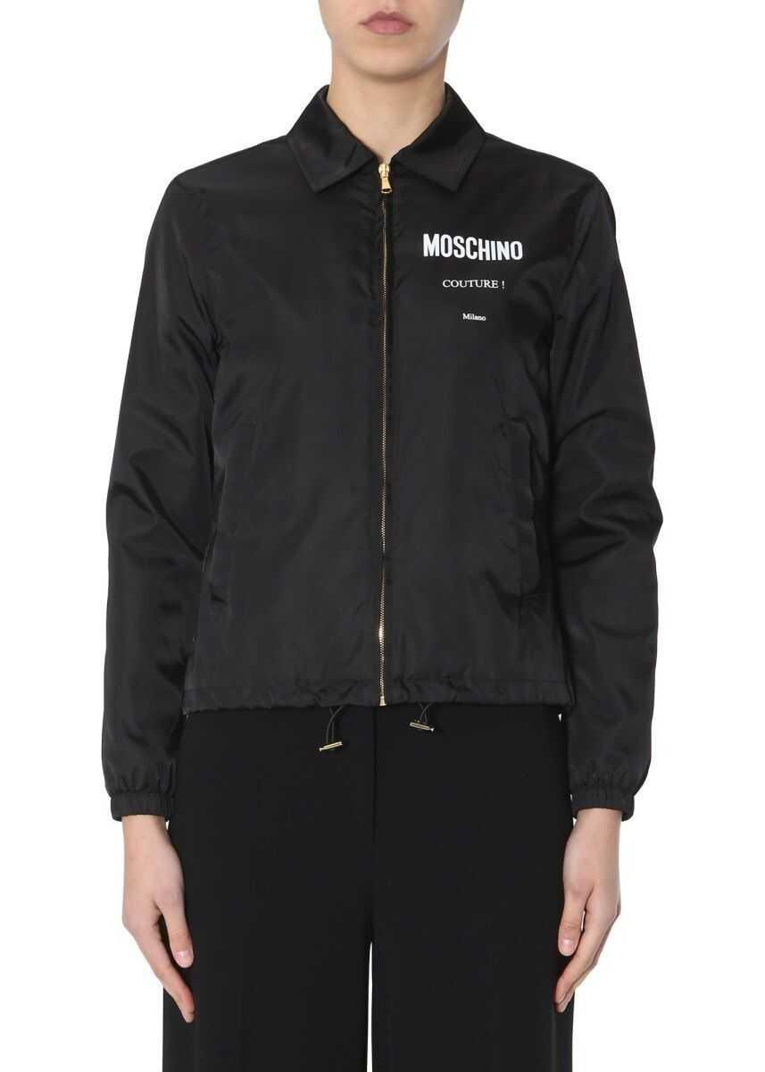 Moschino Windbreaker Moschino Couture BLACK