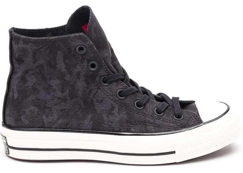 Converse Fabric Hi Top Sneakers BLACK