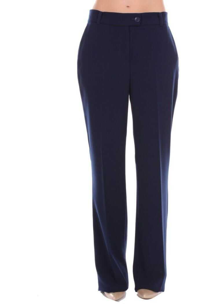 Pinko Cotton Pants BLUE