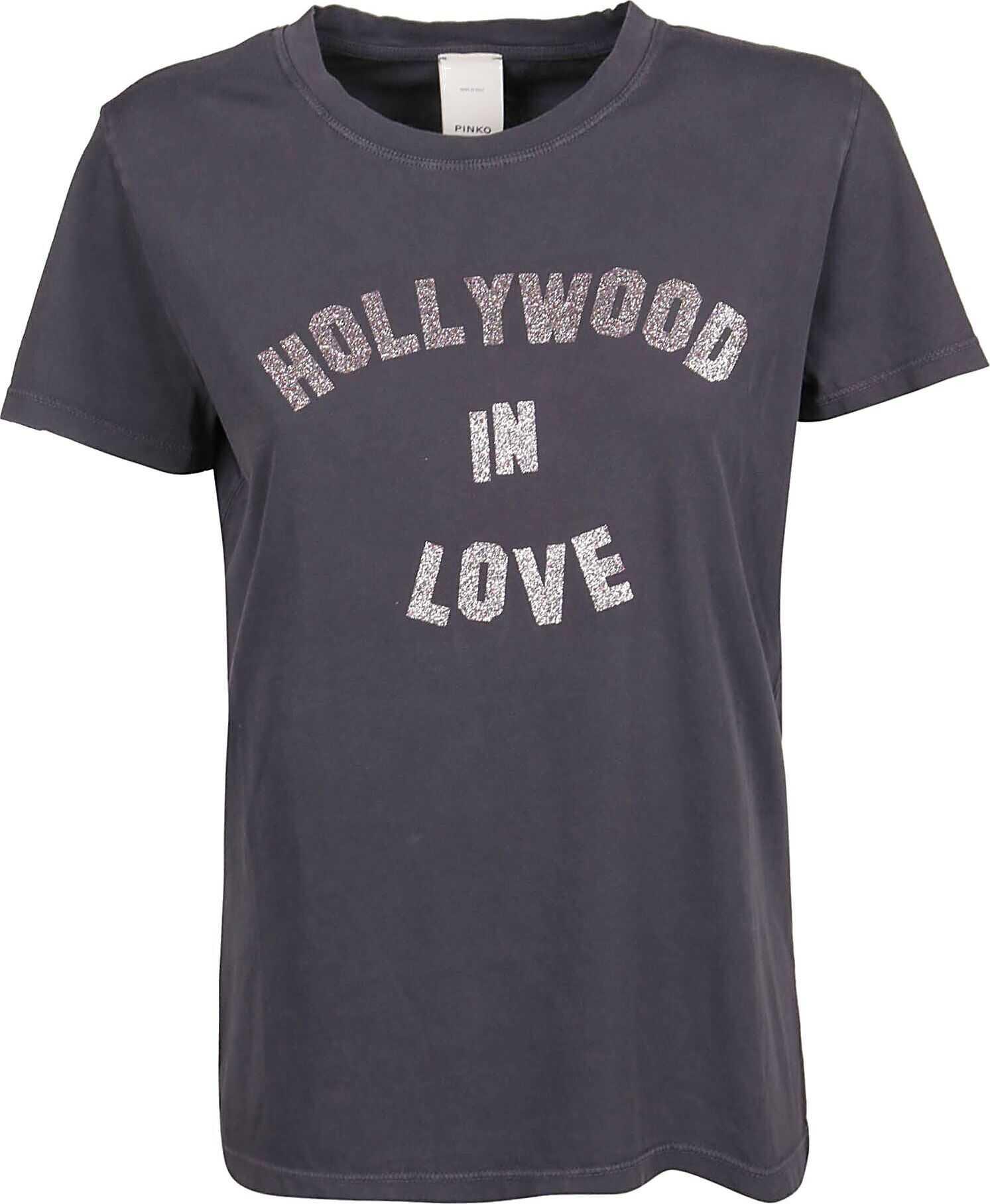 Pinko Cotton T-Shirt BLACK