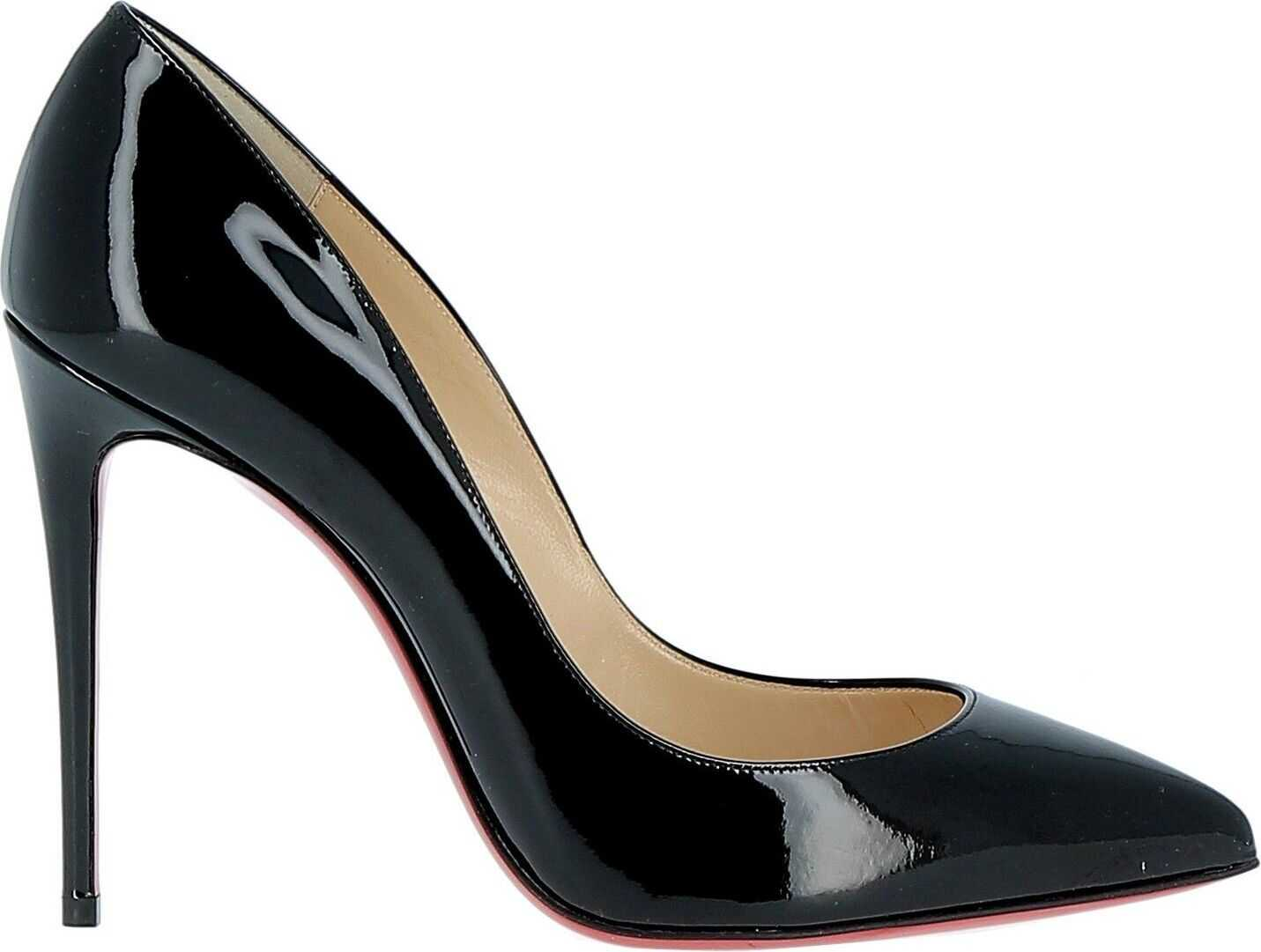 Christian Louboutin Patent Leather Pumps BLACK