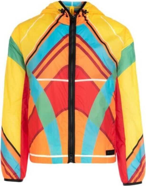 Moncler Polyamide Outerwear Jacket MULTICOLOR