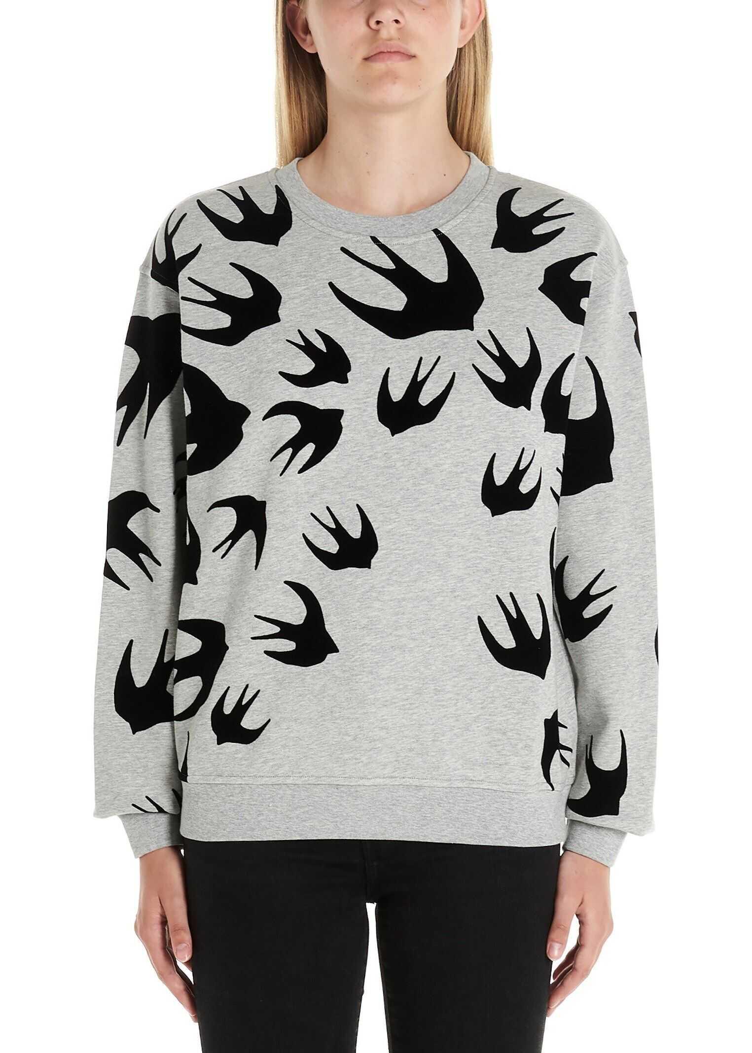 MCQ Alexander McQueen Cotton Sweatshirt GREY