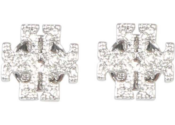 Tory Burch Metal Earrings SILVER