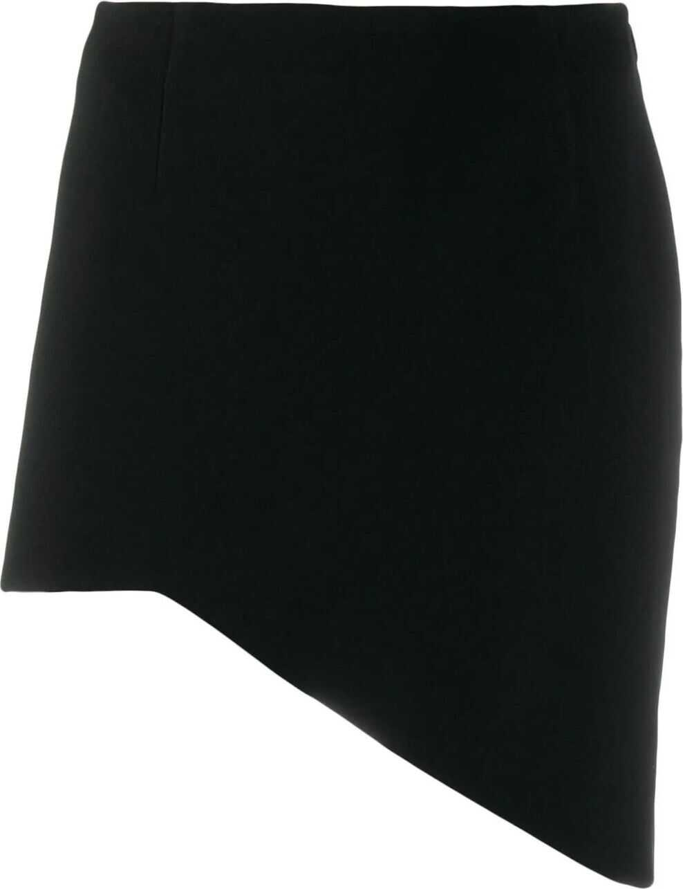 Saint Laurent Acetate Skirt BLACK