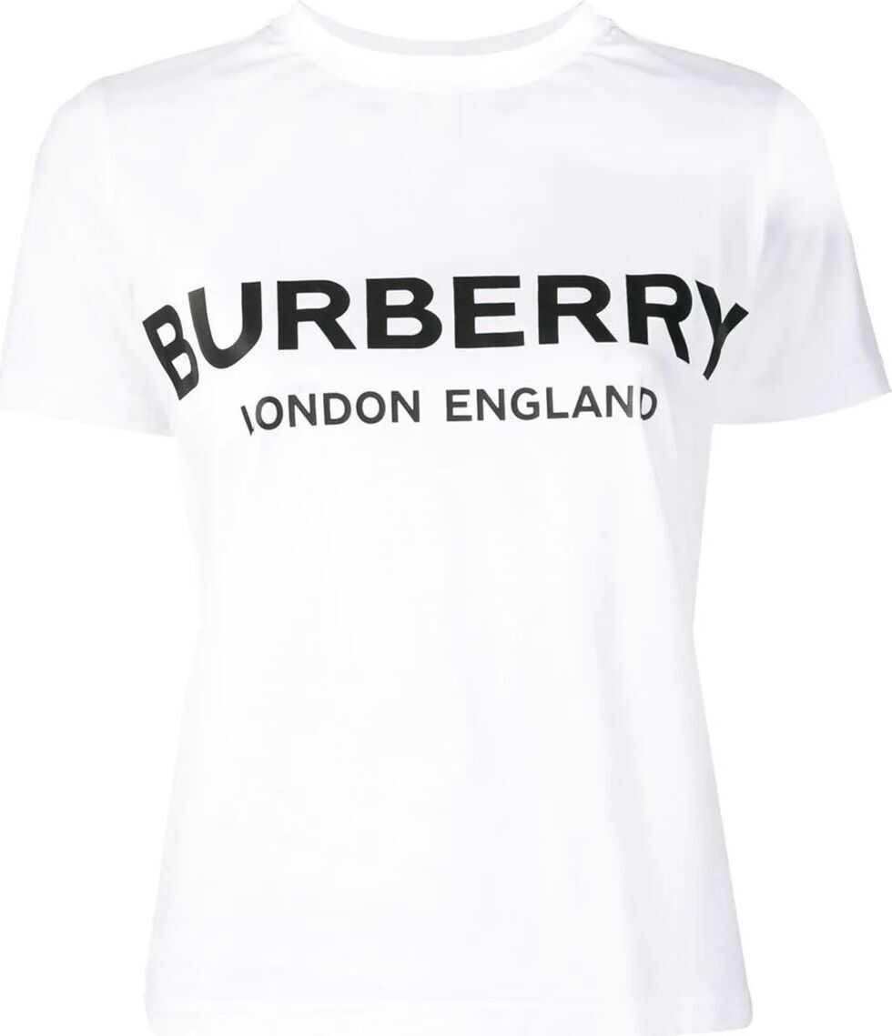 Burberry Cotton T-Shirt WHITE