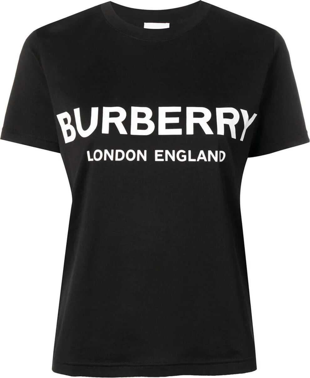 Burberry Cotton T-Shirt BLACK