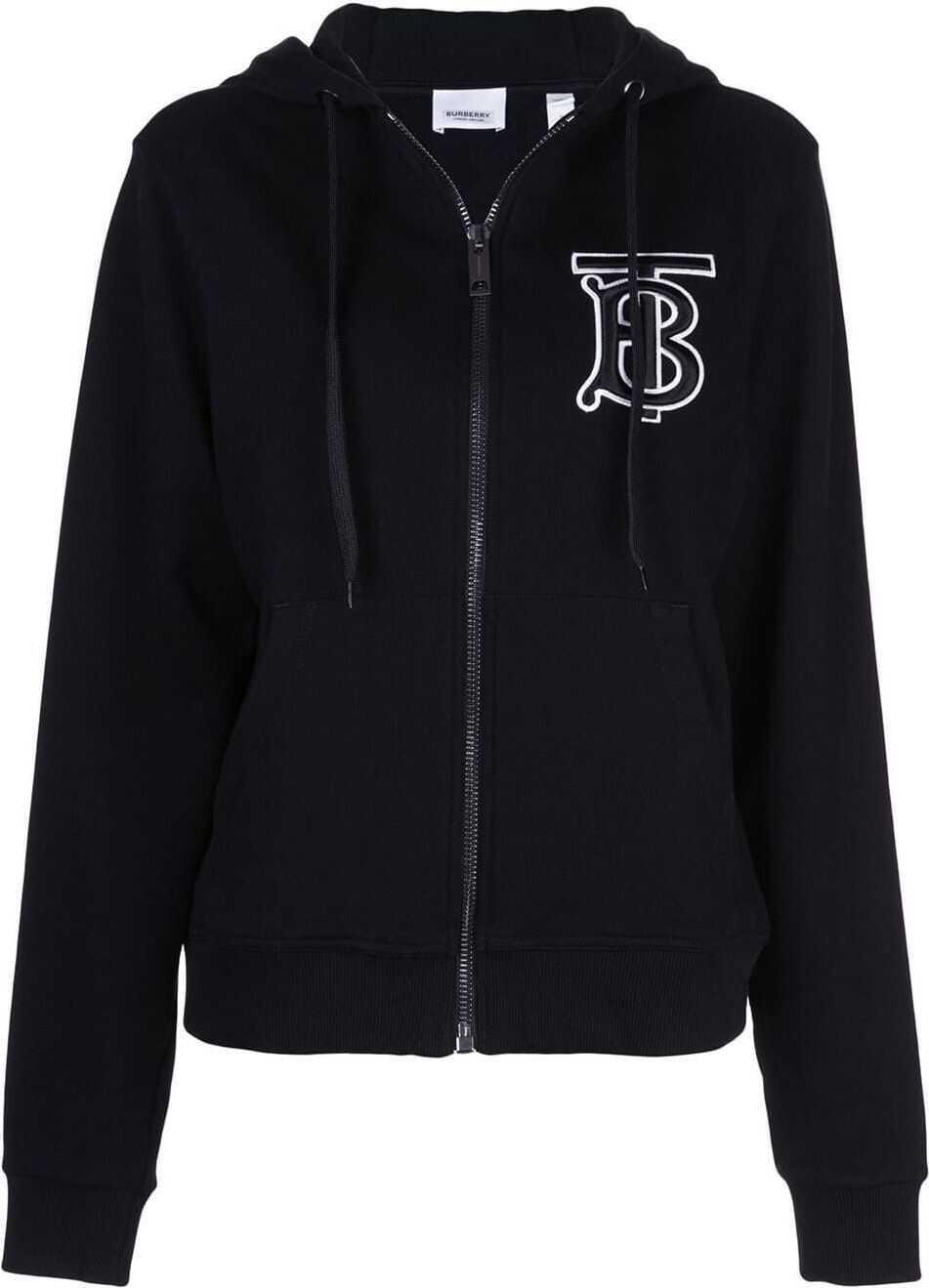 Burberry Cotton Sweatshirt BLACK