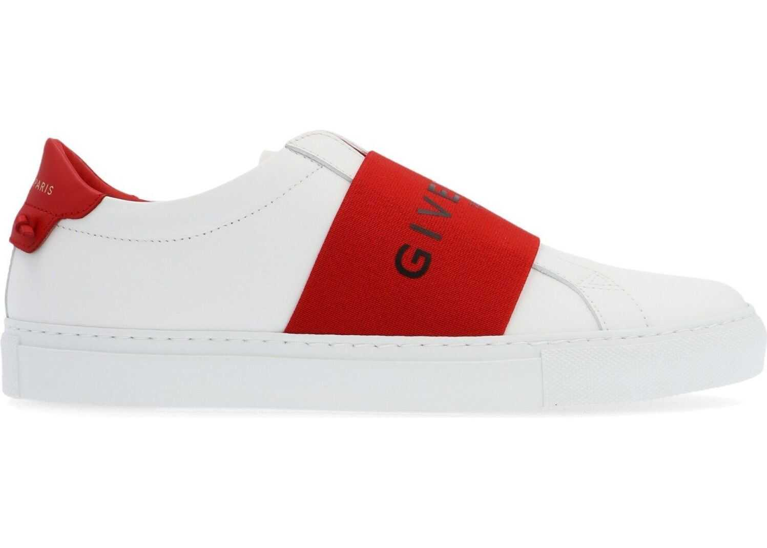 Givenchy Leather Slip On Sneakers WHITE