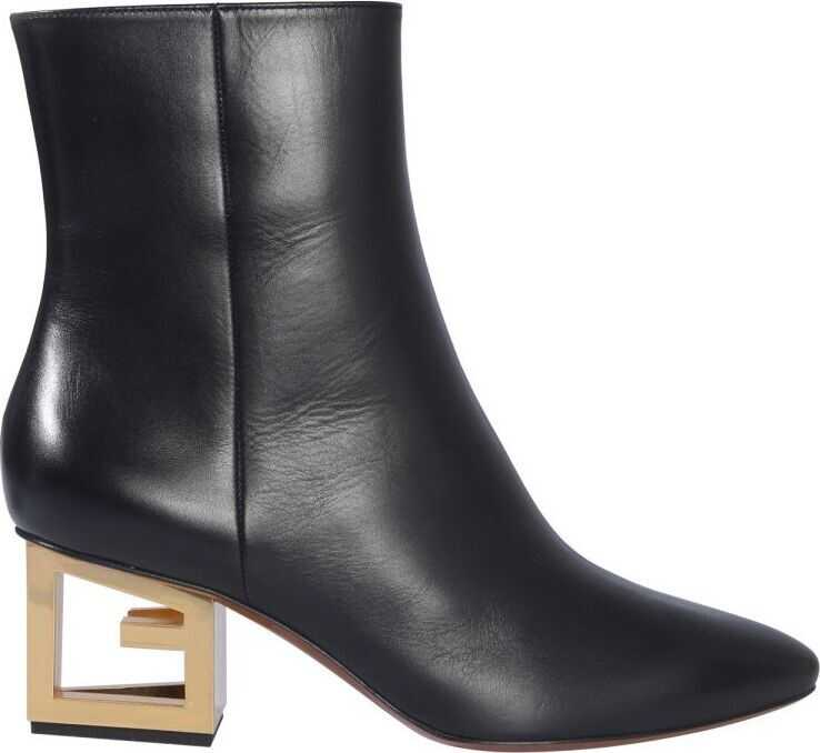 Givenchy Leather Ankle Boots BLACK