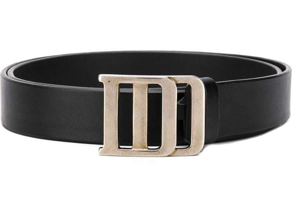 DSQUARED2 Leather Belt BLACK