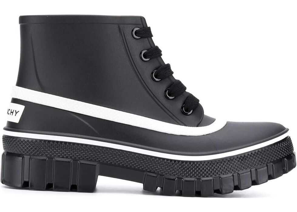 Givenchy Pvc Ankle Boots BLACK