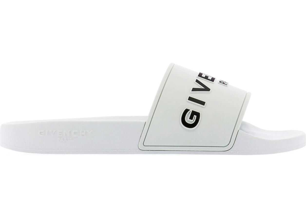 Givenchy Rubber Sandals WHITE