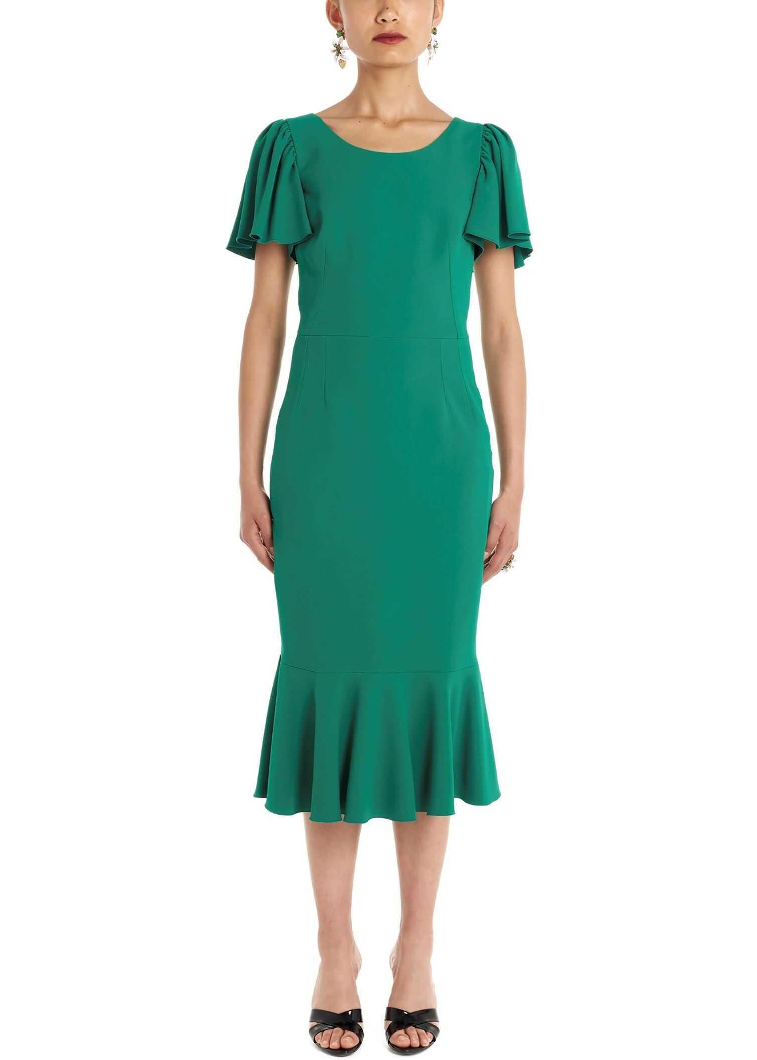 Dolce & Gabbana Viscose Dress GREEN