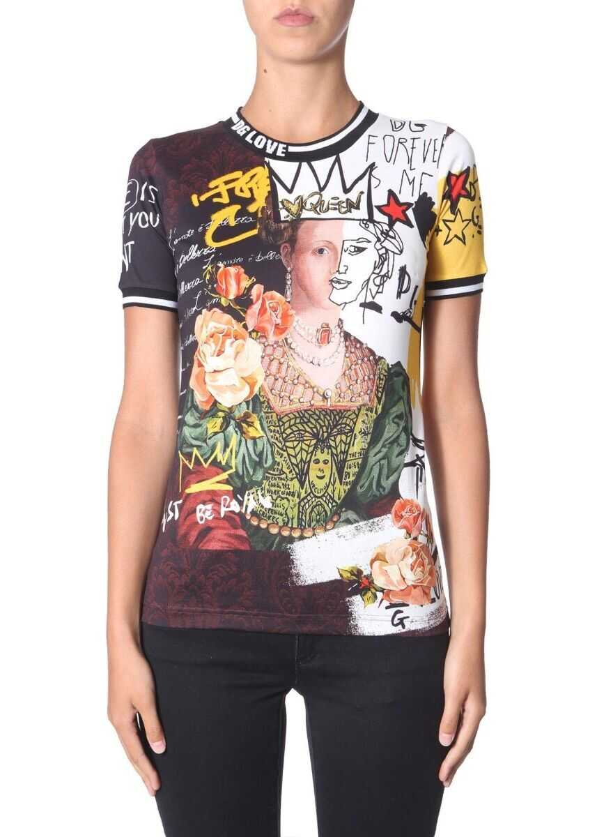 Dolce & Gabbana Cotton T-Shirt MULTICOLOR