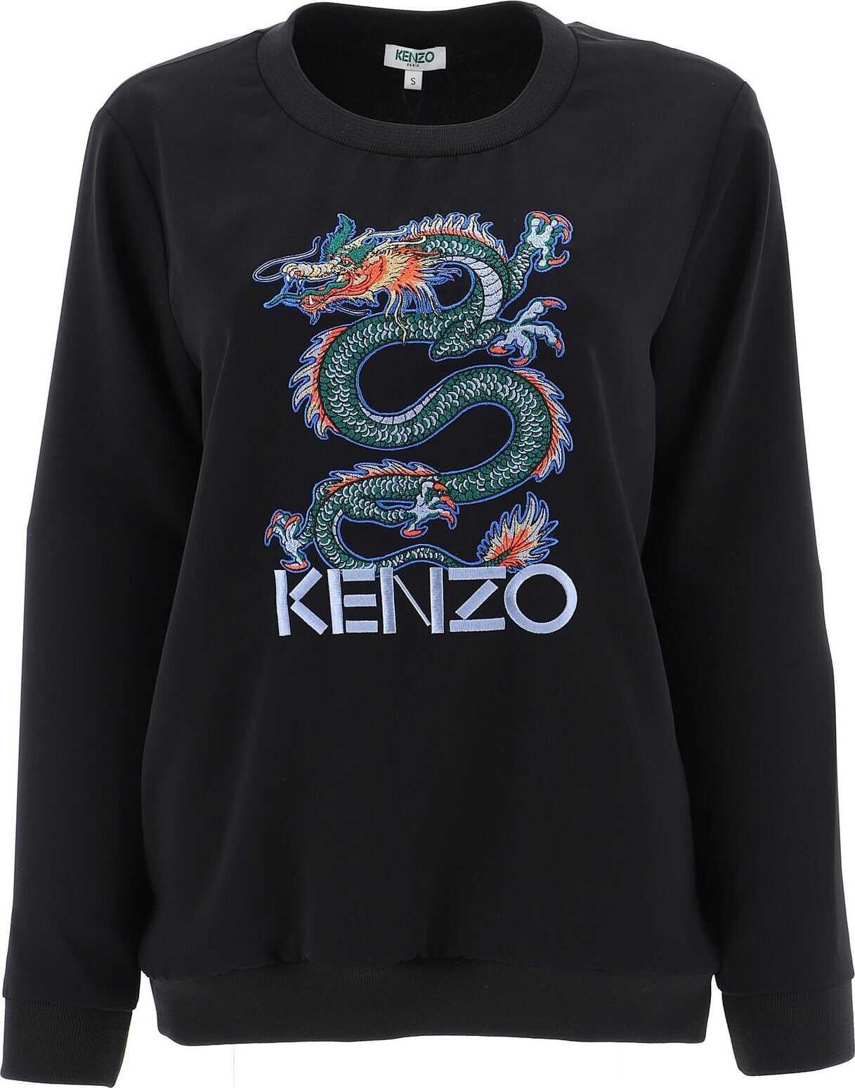 Kenzo Polyester Sweatshirt BLACK