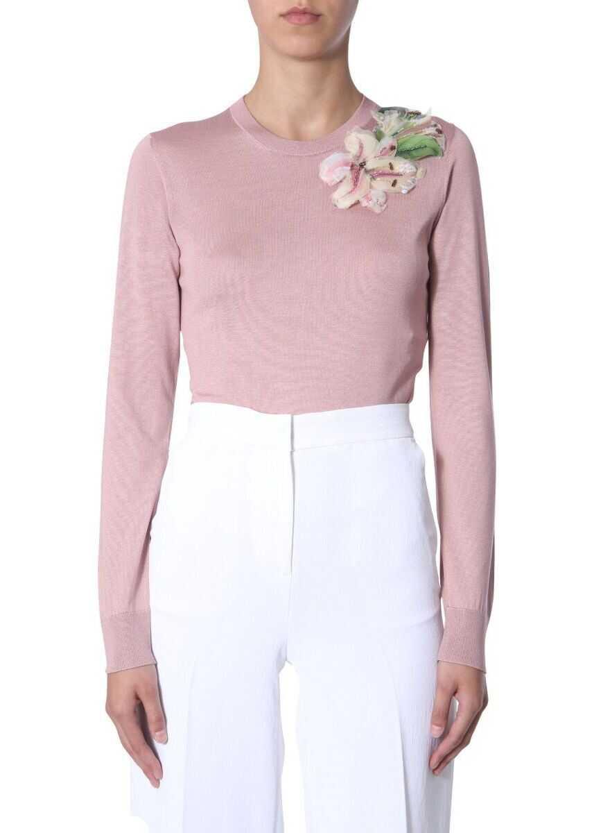 Dolce & Gabbana Silk Sweater PINK