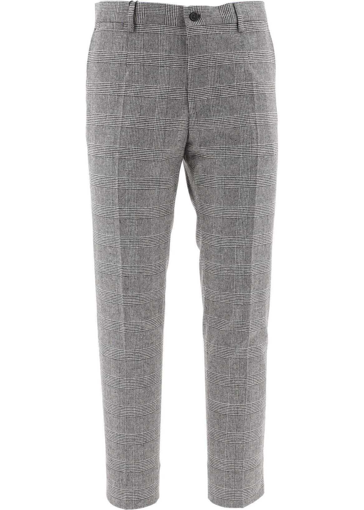 Dolce & Gabbana Wool Pants GREY