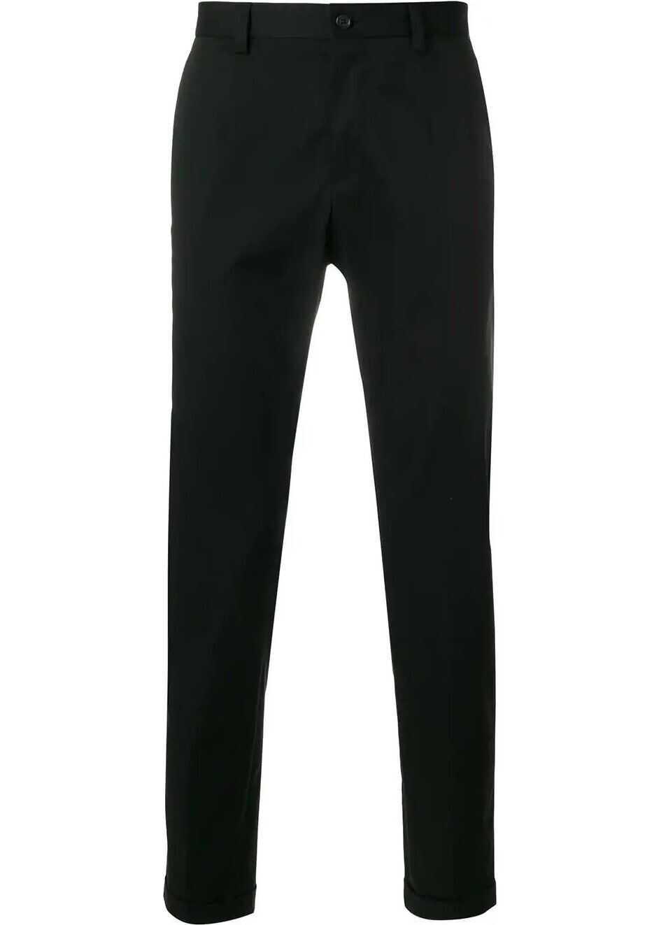 Dolce & Gabbana Cotton Pants BLACK
