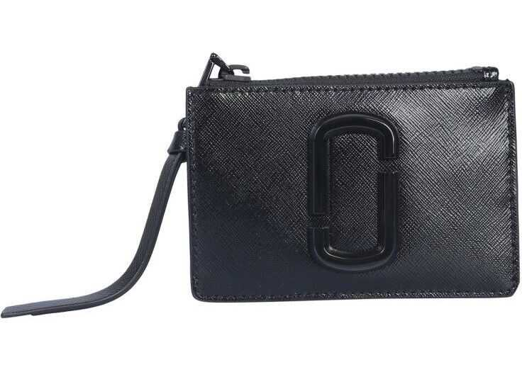 Marc Jacobs Polyurethane Wallet BLACK