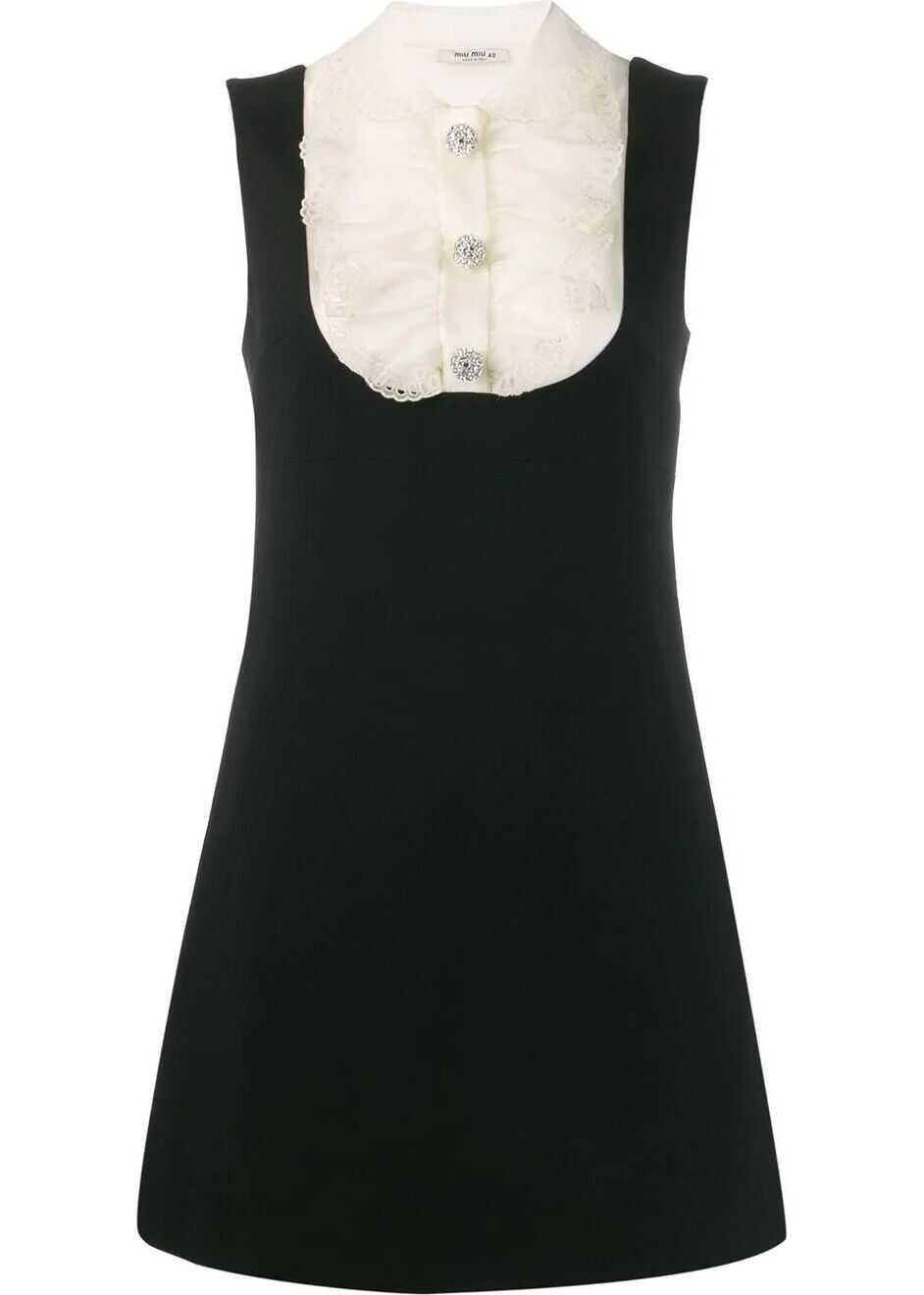 Miu Miu Silk Dress BLACK