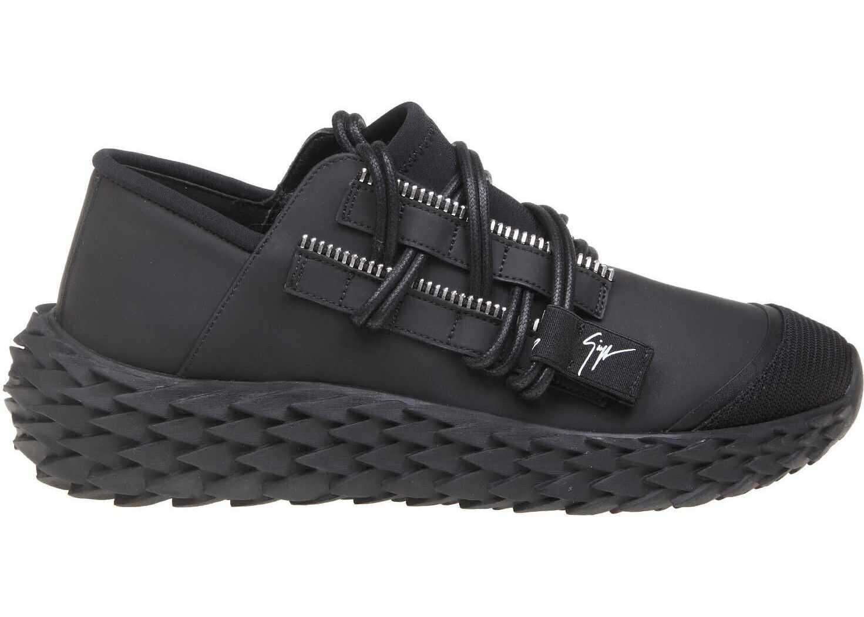 Giuseppe Zanotti Polyester Sneakers BLACK