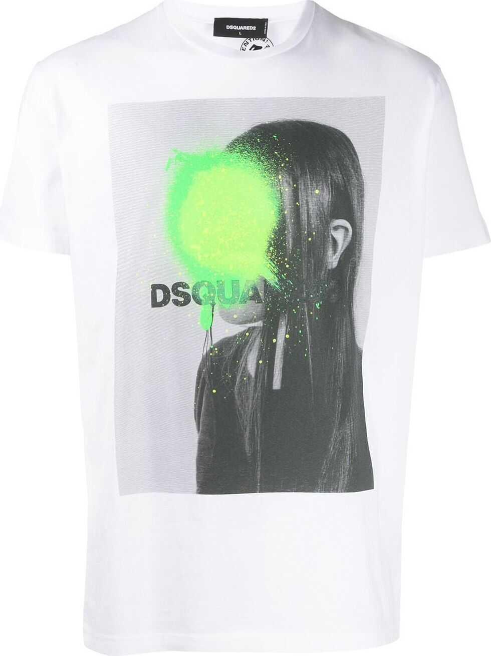 DSQUARED2 Cotton T-Shirt WHITE