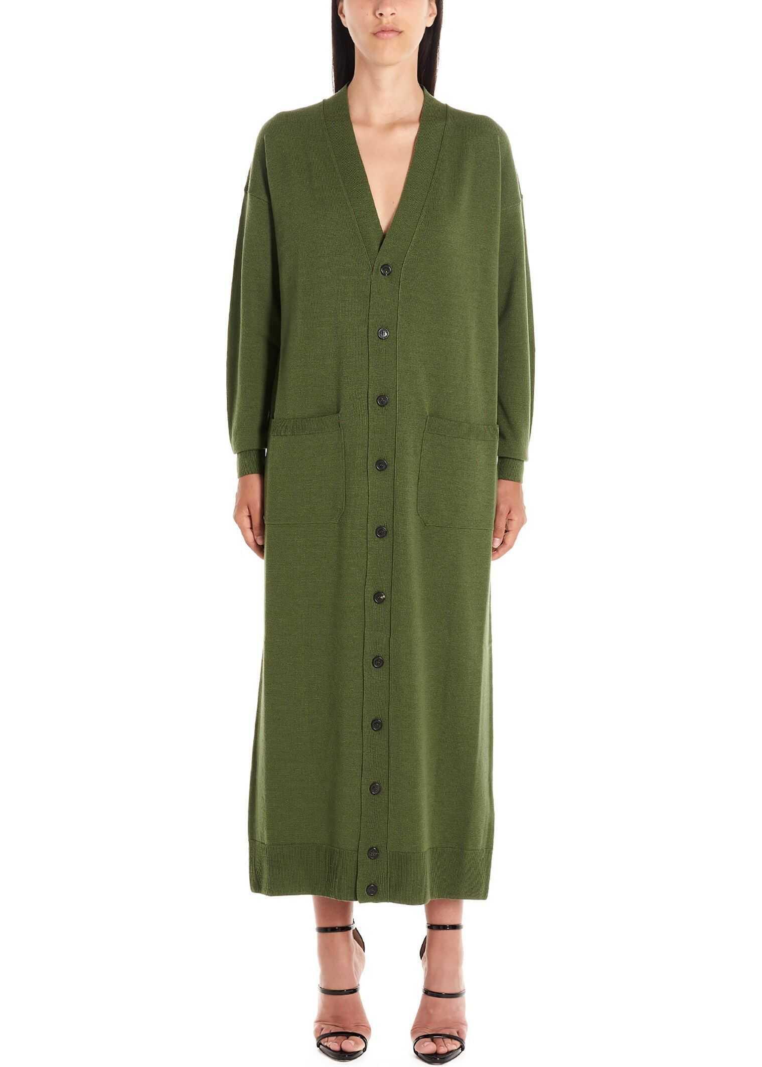 DSQUARED2 Wool Cardigan GREEN