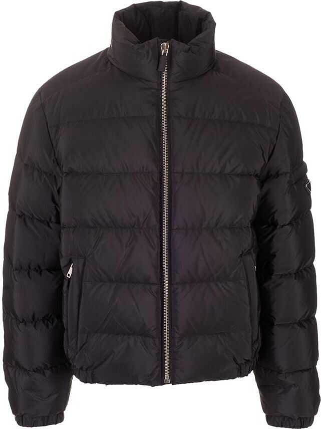 Prada Polyamide Down Jacket BLACK