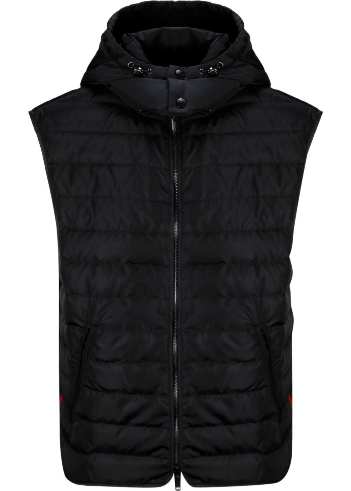 Valentino Garavani Nylon Vest BLACK