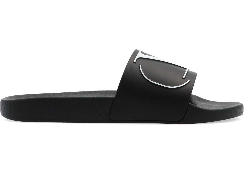 Valentino Garavani Rubber Sandals BLACK