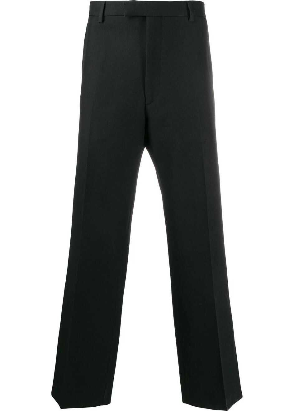 Prada Synthetic Fibers Pants BLACK