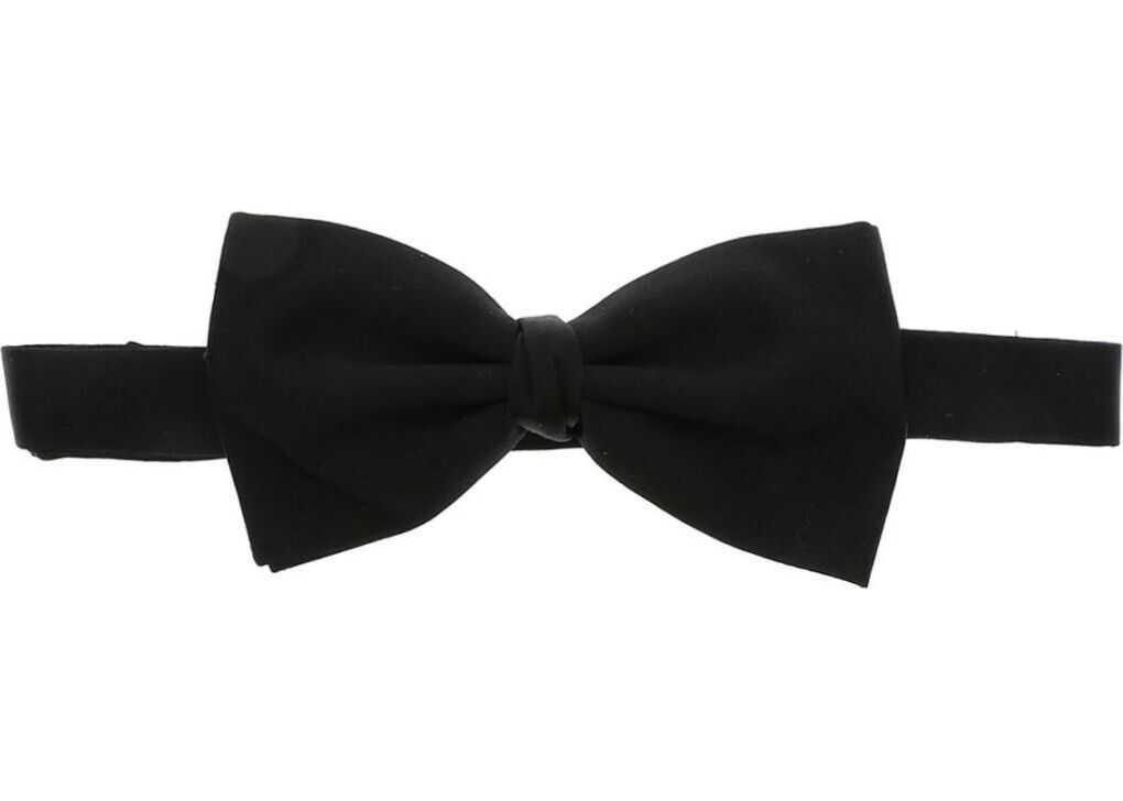 Z Zegna Silk Bow Tie BLACK