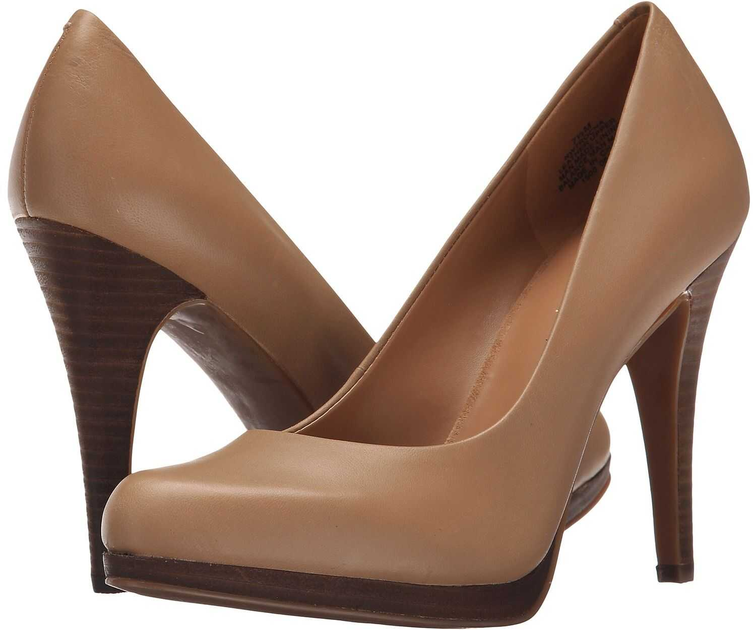 Nine West Rocha Taupe Leather