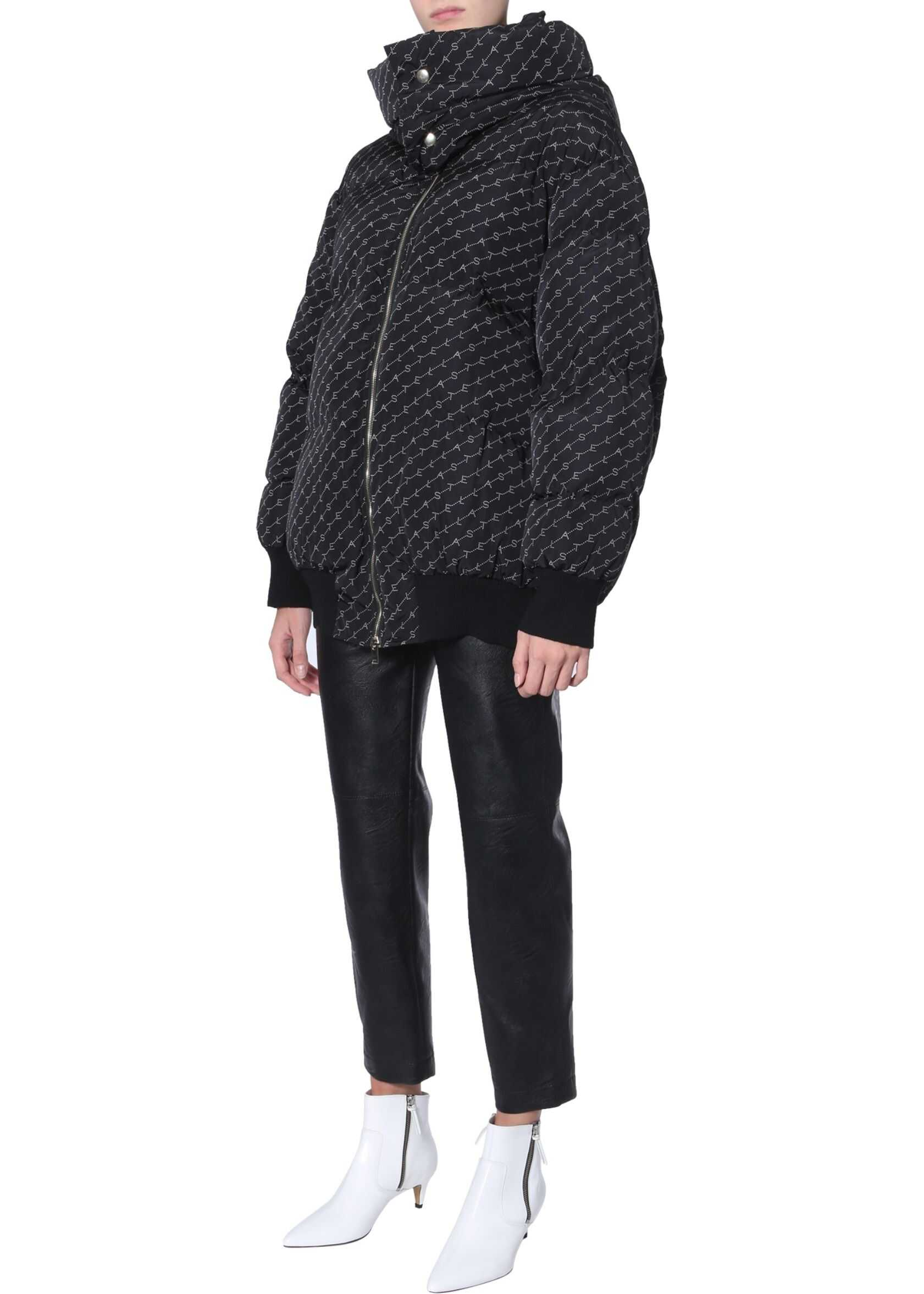 adidas by Stella McCartney Oversize Fit Down Jacket BLACK