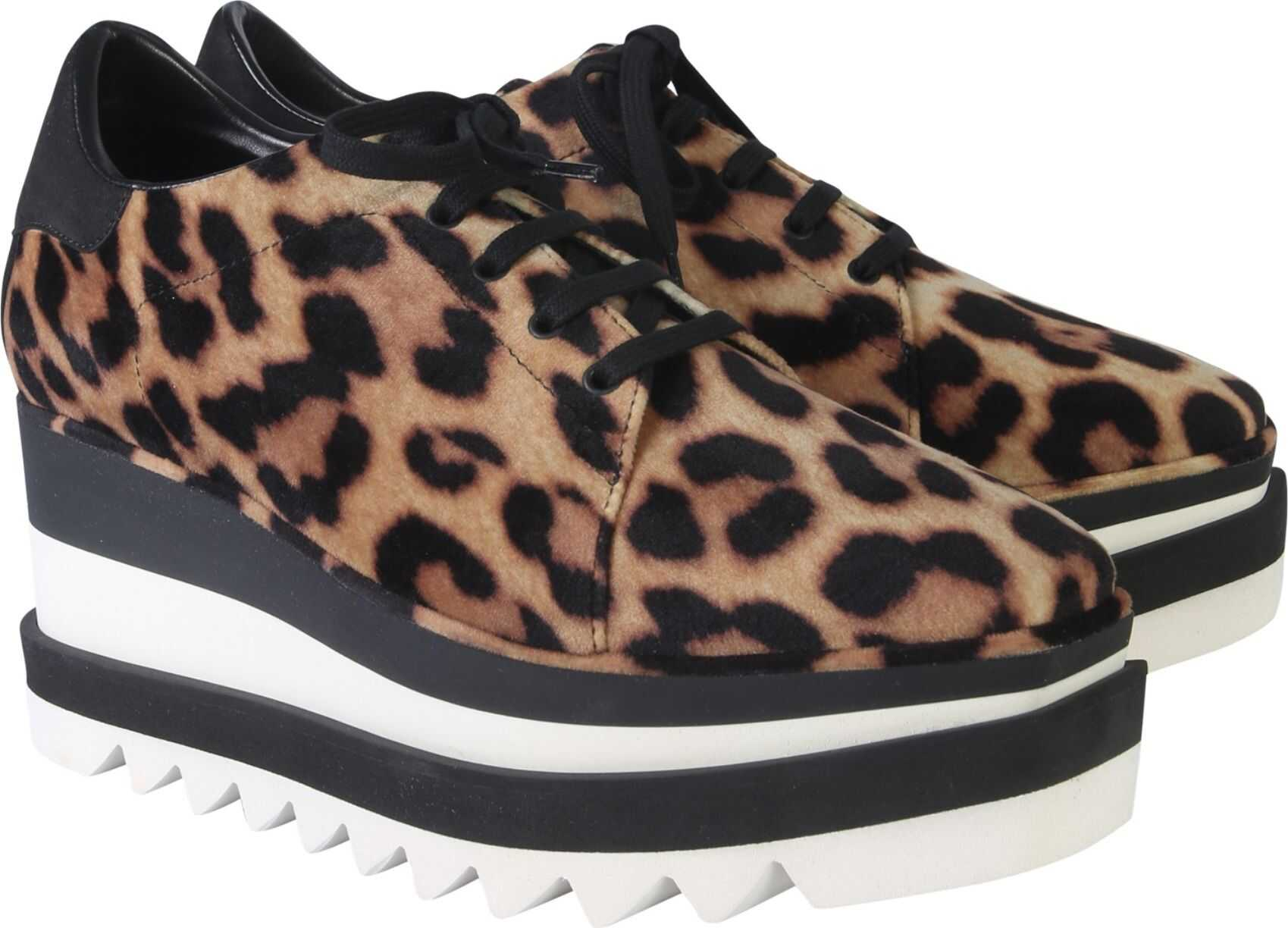 adidas by Stella McCartney Elyse Lace-Up ANIMALIER